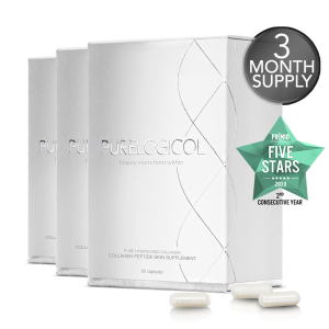 3 x Collagen Peptide Skin Supplements